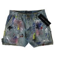jeans short customized