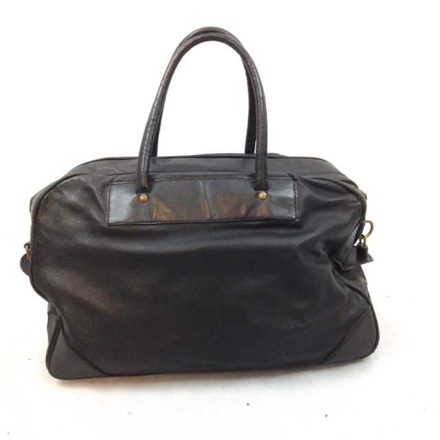 ALENCIAGA LAMBSKIN LEATHER DOCTOR'S BAG