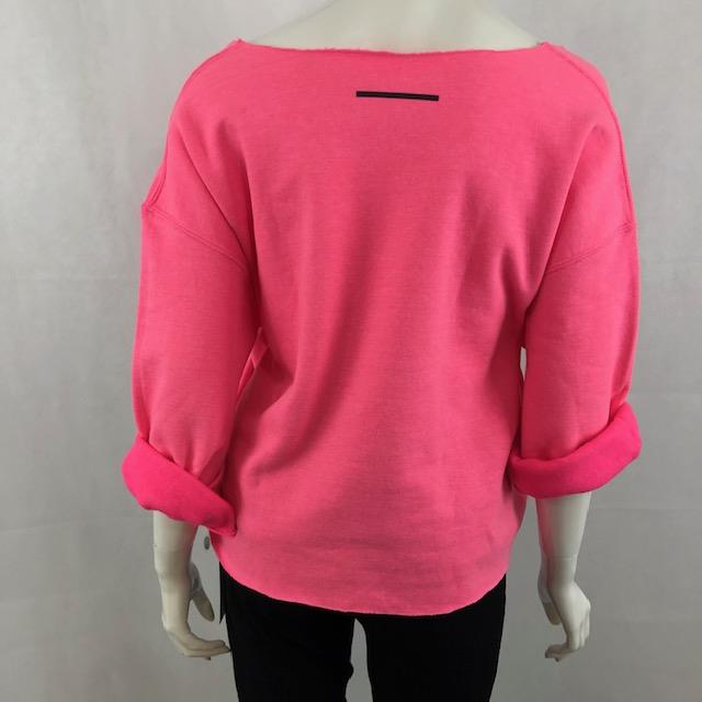 SWEATER MINI WINK CROPPED WIDE NECK