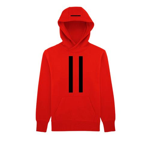 OVERSIZED HOODY DOUBLE STRIPE